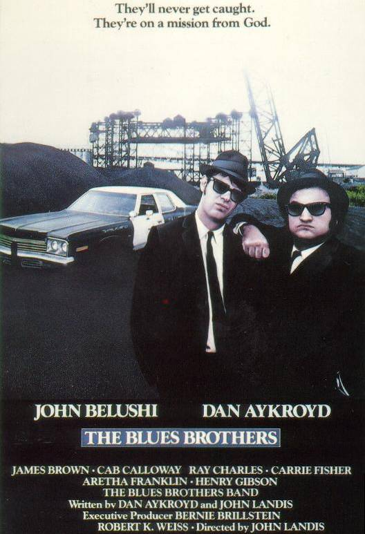 POSTER – THE BLUES BROTHERS