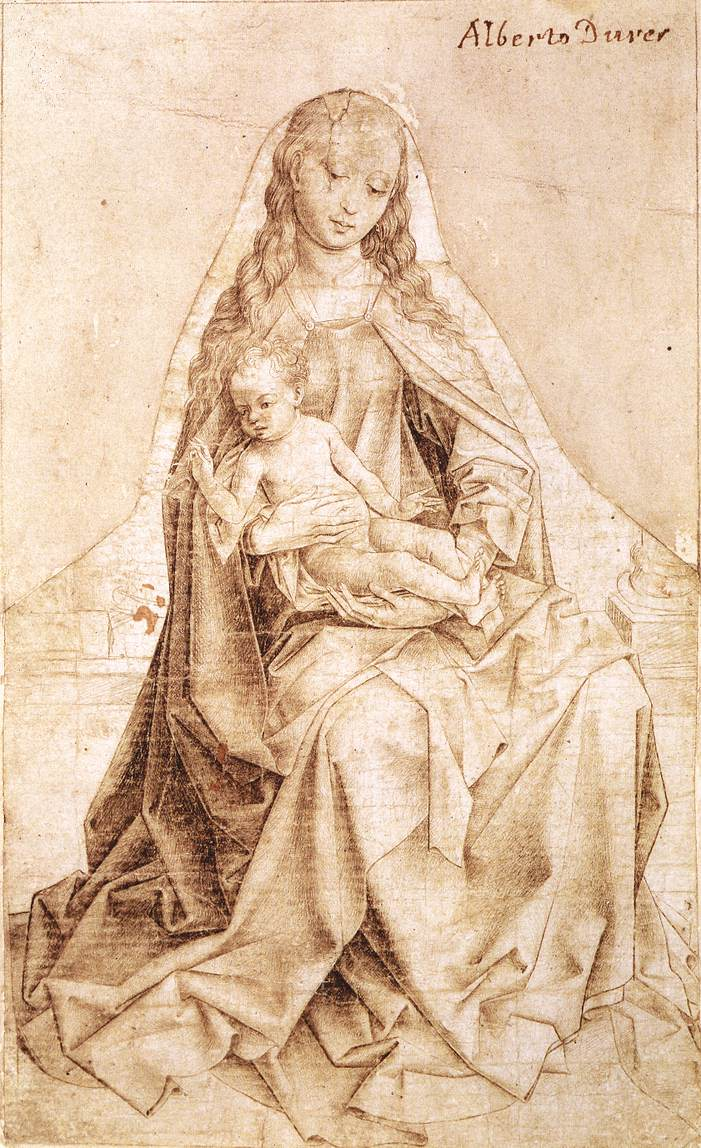 Weyden_Virgin_with_the_Blessing_Child