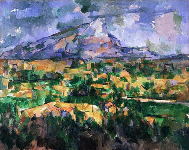 <Mont Sainte-Victoire> 1902-1904 by Paul Cezanne